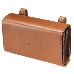 Brooks D-Shaped Saddle Bag honey